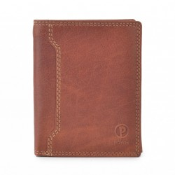 Pánská kožená peněženka Poyem ANDORA 5207 koňaková