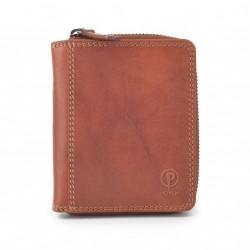 Dámská kožená peněženka Poyem ANDORA 5217 koňaková