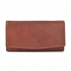 Dámská kožená peněženka Poyem ANDORA 5215 koňaková