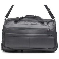 Cestovní taška na kolečkách Airtex 836/50 černošedá
