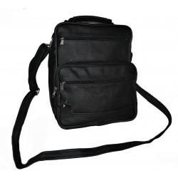 Kožená taška pánská TM-1 černá