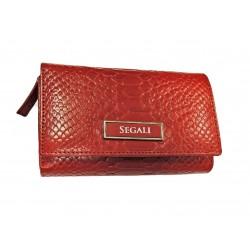 Dámská kožená peněženka Segali 910.19.704 red