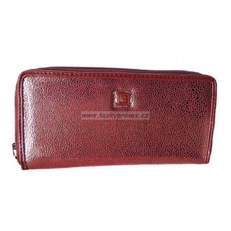 Dámská kožená peněženka Laura Biagiotti Hor. LB569-02 rubino