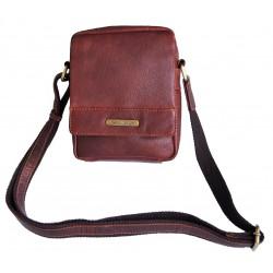 Kožená taška přes rameno SendiDesingn SD-100 brown