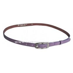 Opasek dámský kožený Penny Belts 15-2-54 fialový