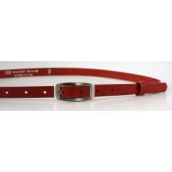 Opasek dámský kožený Penny Belts 15-2-92 červený