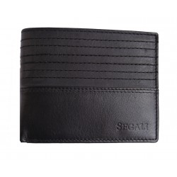 Pánská kožená peněženka Segali 80894 black