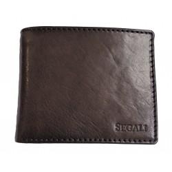 Pánská kožená peněženka Segali 81228 d.brown