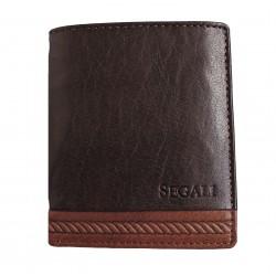 Pánská kožená peněženka Segali 81042 brown/tan