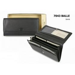 Dámská kožená peněženka Balle 7043 černá