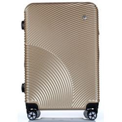 Cestovní kufr T-Class 2011/50-S champagne