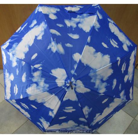 Deštník holový automat 96043 mraky