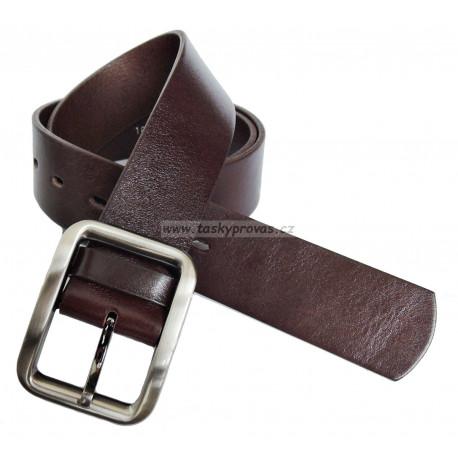 Opasek kožený Penny Belts 41-04 hnědý
