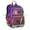 Školní batoh Bagmaster GALAXY 9 B BLUE/BROWN/PINK