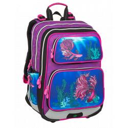Školní batoh Bagmaster GALAXY 9 C VIOLET/BLUE