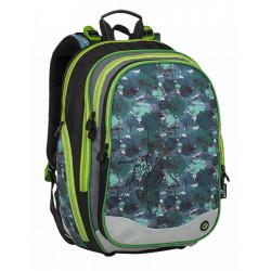 Školní batoh Bagmaster ELEMENT 9 B BLACK/GREEN/GREY