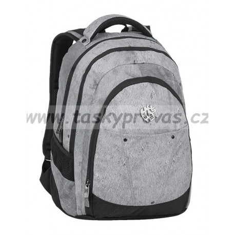 c82d453617 Studentský batoh Bagmaster DIGITAL 9 E GREY BLACK