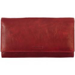 Dámská kožená peněženka Segali SG-28 port wine