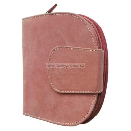 Dámská kožená peněženka Tom 9319/83 červená
