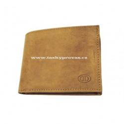 Kožená peněženka DD 005-03 sv.hnědá