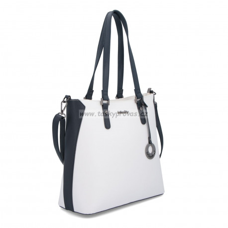 Le Sands kabelka 3751 bílá/modrá