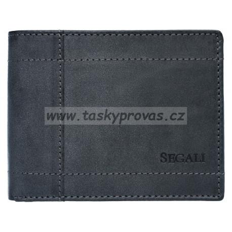 Pánská kožená peněženka Segali 70085 grey