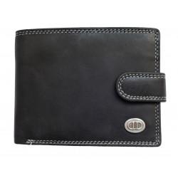 Pánská kožená peněženka DD D506-01 black