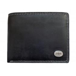 Pánská kožená peněženka DD D505-01 black