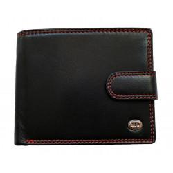 Pánská kožená peněženka DD X97-01 černá