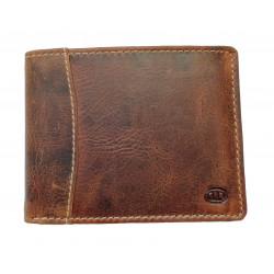 Pánská kožená peněženka DD 217-17 brown
