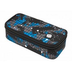 Školní penál/pouzdro Bagmaster CASE BAG 9 D BLUE/GRAY/BLACK