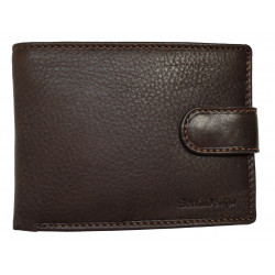 Pánská kožená peněženka SendiDesign B01(L) brown