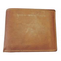 Pánská kožená peněženka Talacko 12005 sv.hnědá