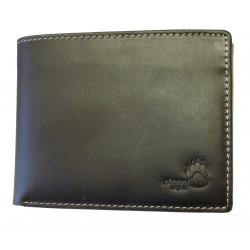 Pánská kožená peněženka Talacko 3050 tm.hnědá