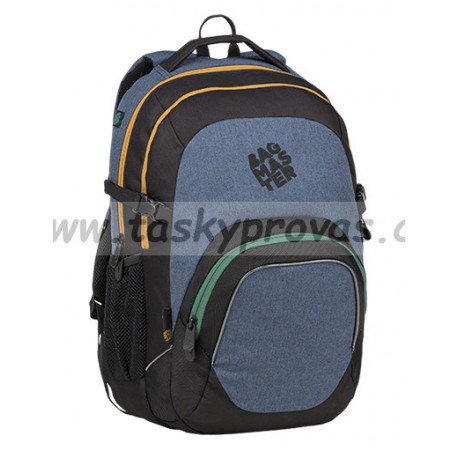Studentský batoh Bagmaster MATRIX 9 B BLUE