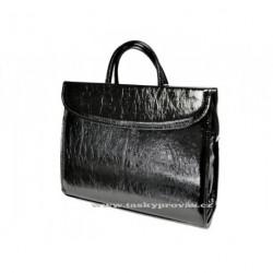Dámská kabelka do ruky (spisovka) Hurt H-48 černá
