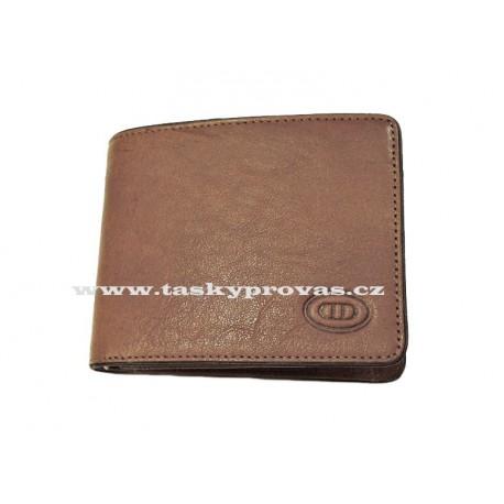 Kožená peněženka DD 044-09 hnědá