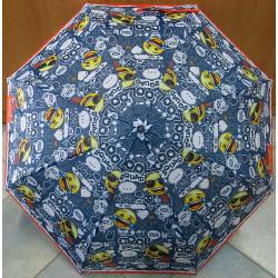 Deštník dětský skládací Perletti 75273 EMOJI