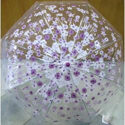 Deštník holový Perletti New Basic 12040 fialový