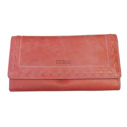Dámská kožená peněženka Segali SG-7052 red