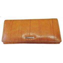 Dámská kožená peněženka Segali SG-7120 cognac