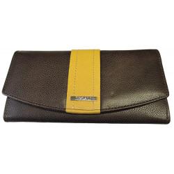 Dámská kožená peněženka Segali SG-7063 brown