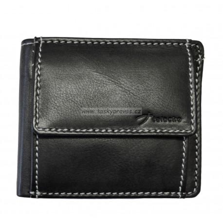 Kožená peněženka dolarka Talacko 1022 černá