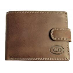 Pánská kožená peněženka DD D185-02 brown