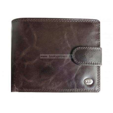 Pánská kožená peněženka DD X 08-05 tm.hnědá