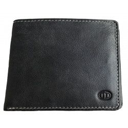 Pánská kožená peněženka DD W 1846-01 černá