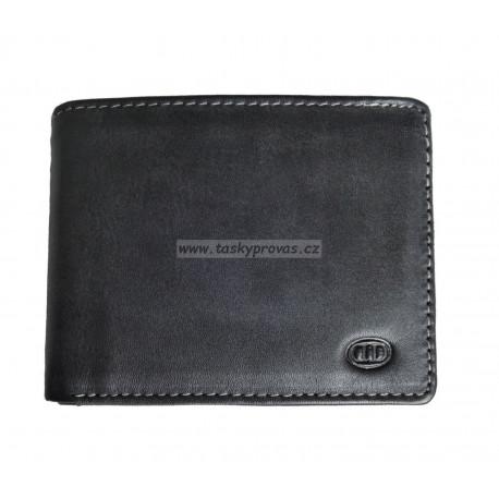 Pánská kožená peněženka DD W 1292-01 černá