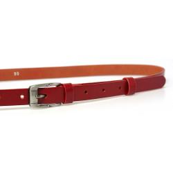 Opasek dámský kožený Penny Belts 20-182-93 červený