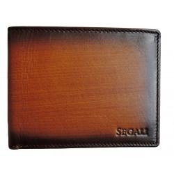 Pánská kožená peněženka Segali 929.204.030 cognac