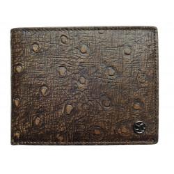 Pánská kožená peněženka Segali 950.114.030 d.brown